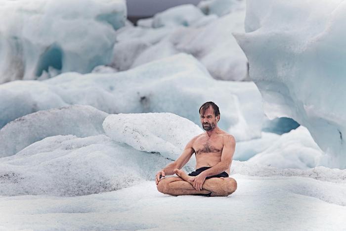 Вим Хоф (Wim Hof) - *Ледяной человек*.