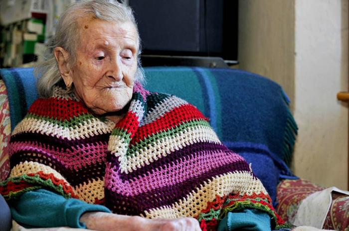 Самый старый человек в Европе.