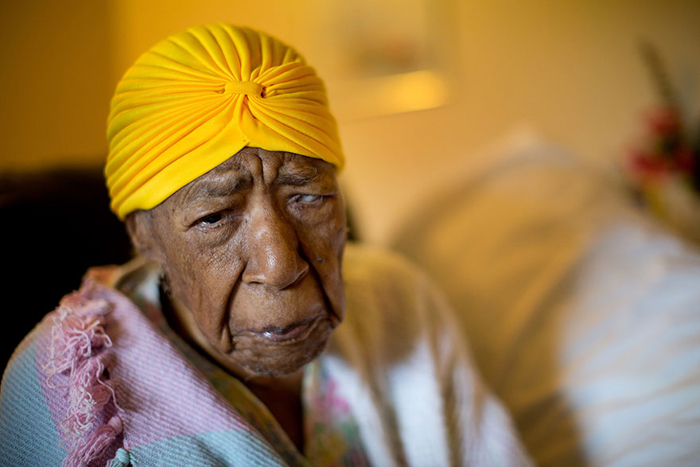 Сюзанна Мушатт Джонс 115 лет.