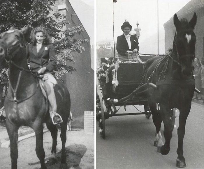 Всю свою молодость женщина так или иначе была рядом с лошадьми, и поэтому эти животные значат для нее очень много.