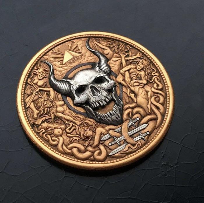 Уникальные монеты.