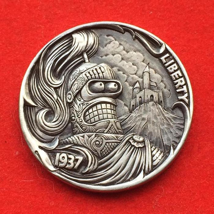 Мастер из России создает из монет миниатюры с секретом, за которые американцы выкладывают баснословные суммы