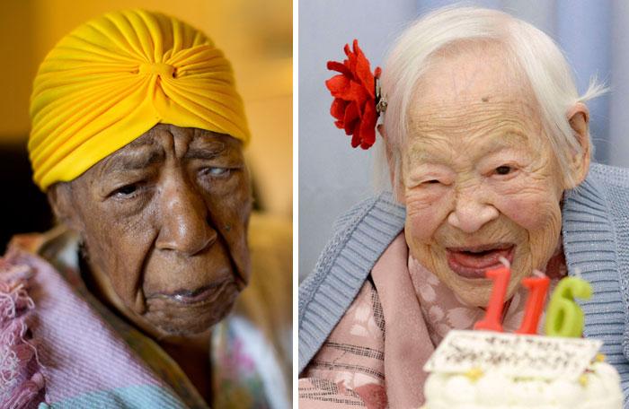 Самые старые женщины на земле.