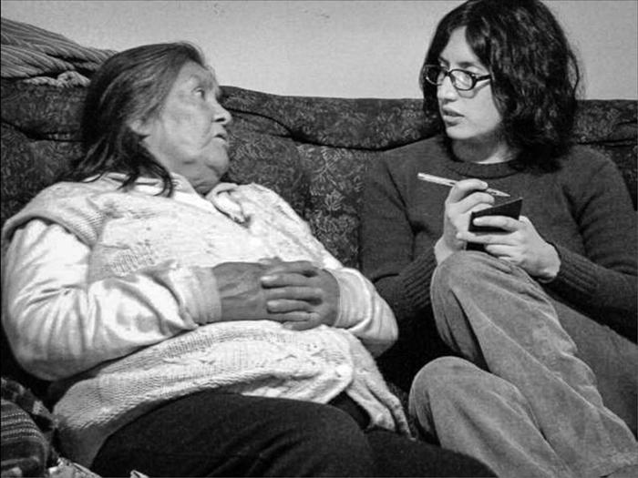 Кристина Кальдерон - последняя носительница языка ямана.