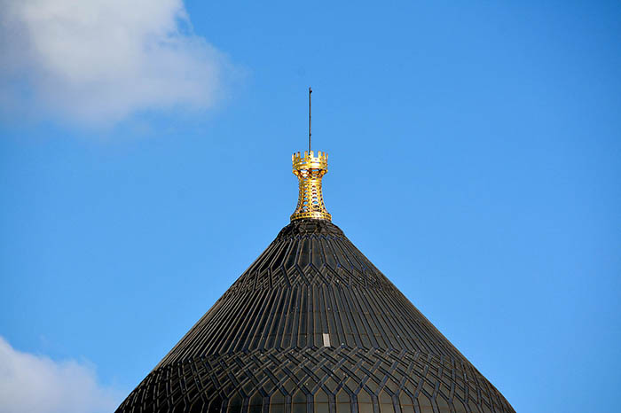 Купол мечети.