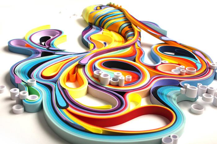 Работы Юлии Бродской чрезвычайно детализированы и красочны.