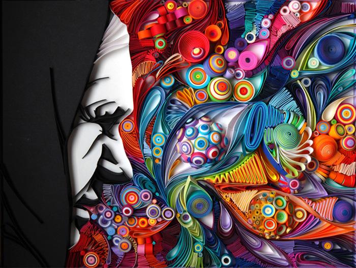 Потрясающие работы Юлии Бродской, сделанные из бумаги.