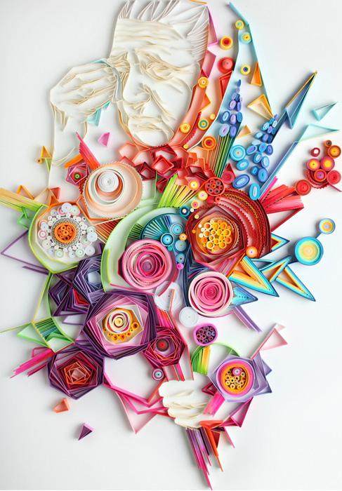 Талантливые работы из бумаги Юлии Бродской.