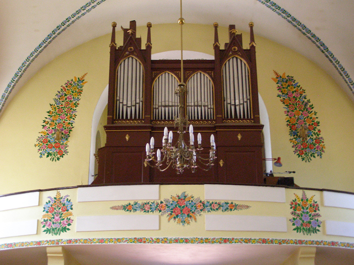 Церковь в Залипье.