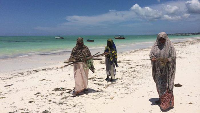 Под палящим солнцем Занзибара опасно находиться целый день без одежды.