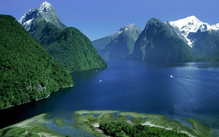 Новая Зеландия.