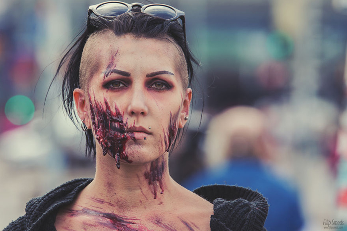 Зомби-фест в Хельсинки. Фото: Filip Smeds.