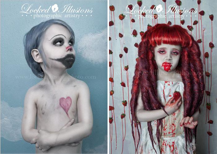 Необычные детские образы на снимках Брит Бентин.