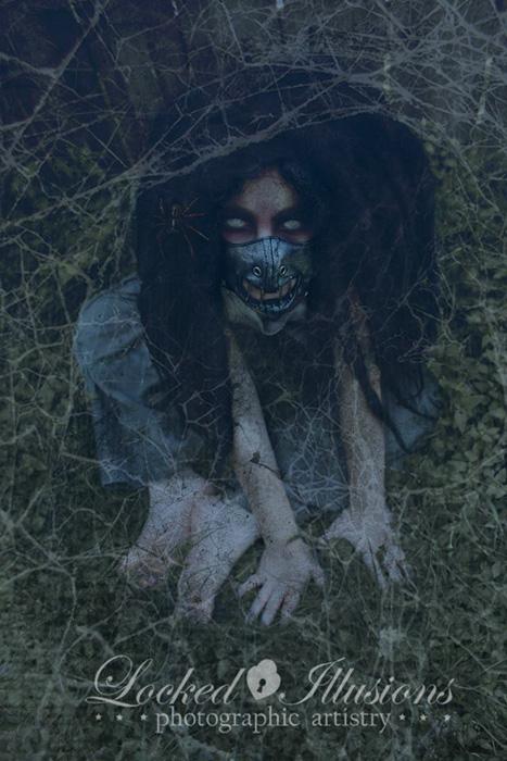 Темные образы на снимках Брит Бентин.