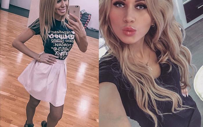 Оксана Зотова работает в салоне красоты.