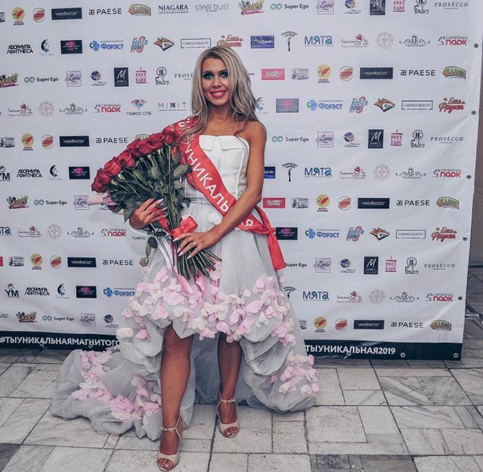 На конкурсе *Ты уникальная* Оксана вы играла в одной из номинаций.