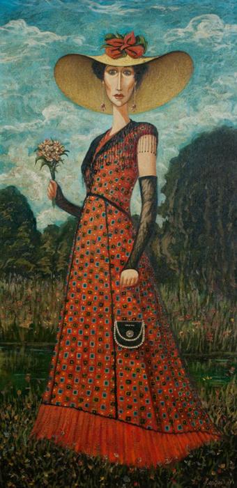 Знатная дама. Автор: Zviad Gogolauri.