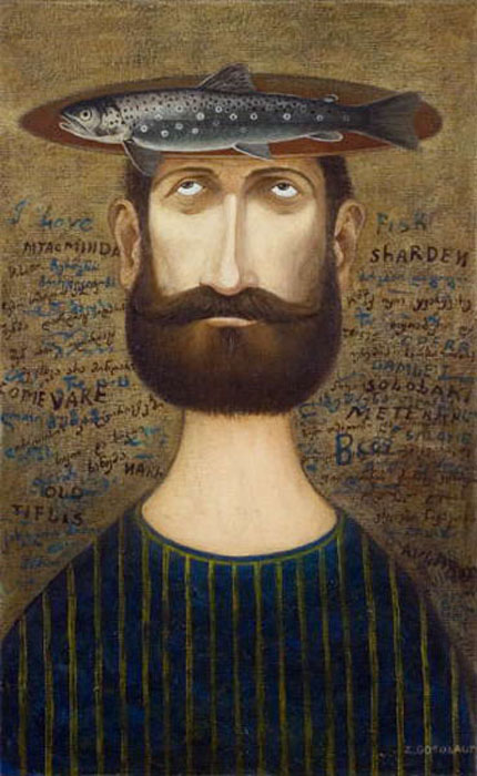 Портрет рыбака. Автор: Zviad Gogolauri.