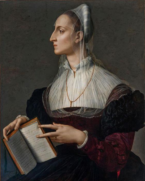 Бронзино, Лаура Баттиферри , около 1560 года.