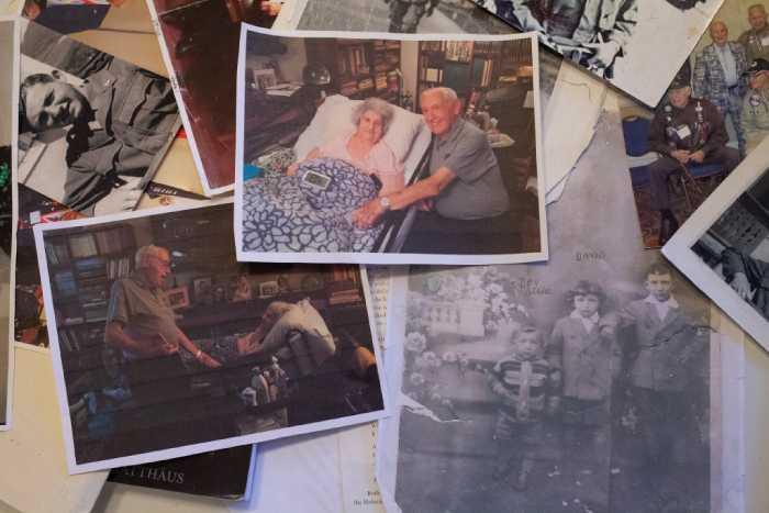 Фотографии из семейного архива Дэвида Вишни.