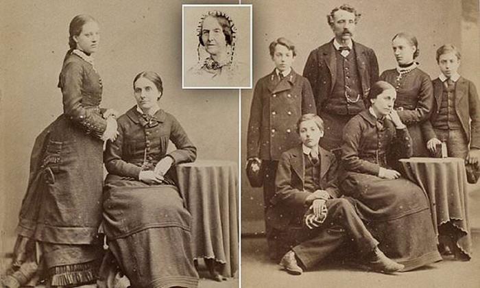 Кадры из семейного фотоальбома Джейн Остин.