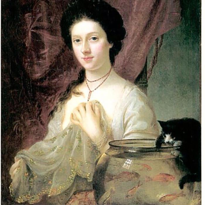 Портрет Китти Фишер, Натаниэль Хоун.