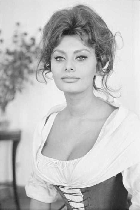 На съёмках фильма «Мадам», 1961 год.