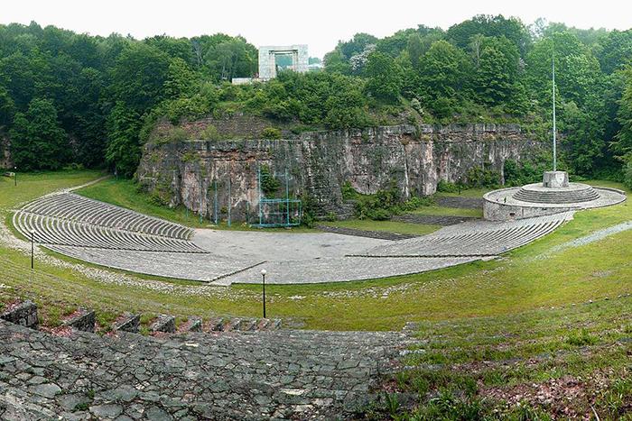 Театр под открытым небом в Кухтале на Санкт-Аннаберге в Верхней Силезии.