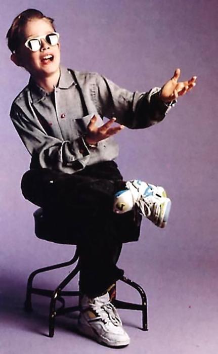 Первые съёмки в рекламе были у Маколея Калкина, когда ему было 5 лет.