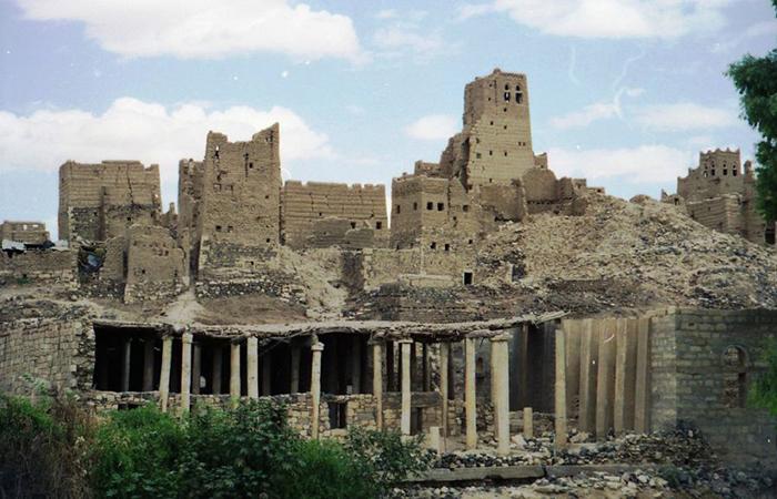 Руины старого Мариба.