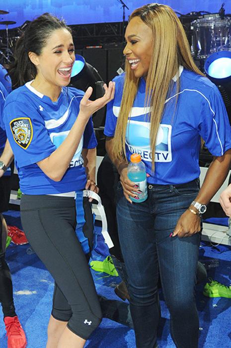 Меган Маркл и Серена Уильямс.