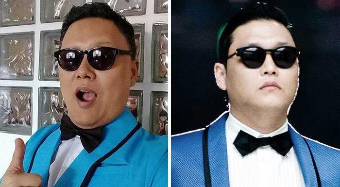 Как только его видят на улице, начинают танцевать как в «Gangnam Style».