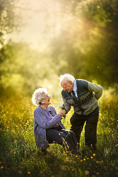 Любовь - это не только красота, цветы и романтика.