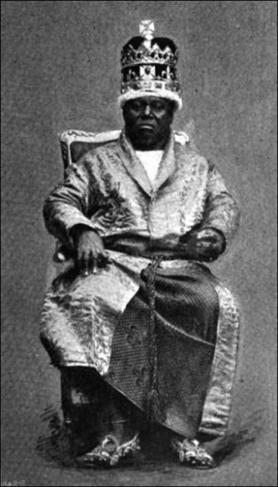 Король Нового Калабара, 1895 год.