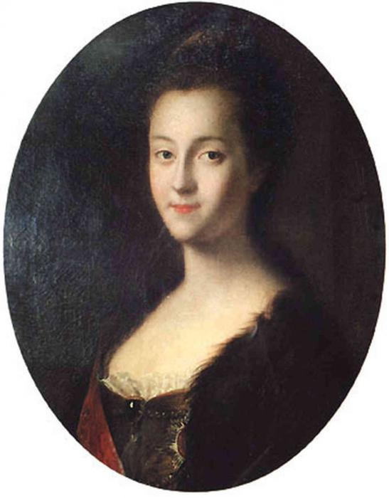 Немецкая принцесса Софи Ангальт-Цербстская.