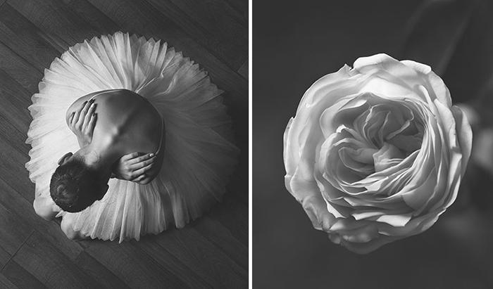 Этот проект заставил фотохудожницу прожить заново одну из важных частей её жизни, связанную с балетом.