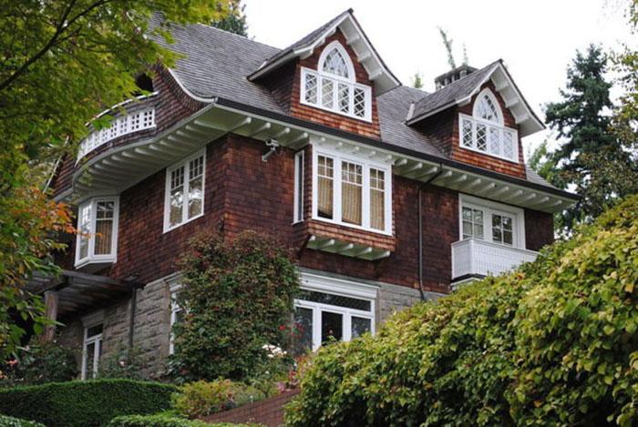 Дом Курта Кобейна в Сиэттле.