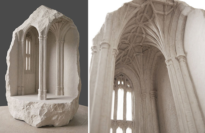 От формы камня зависит и форма здания.