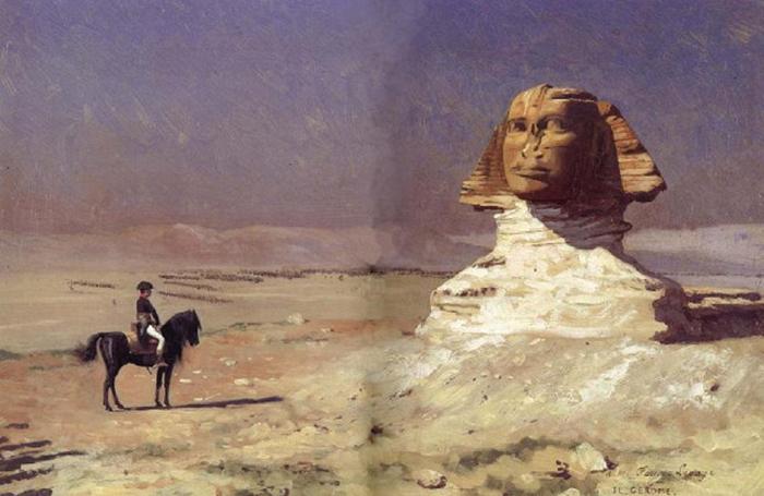 Генерал Наполеон в Египте.