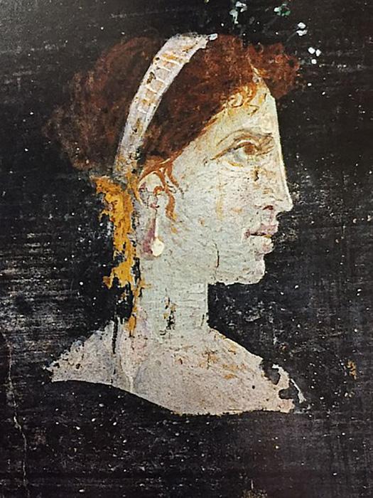 Посмертный портрет царицы Клеопатры.