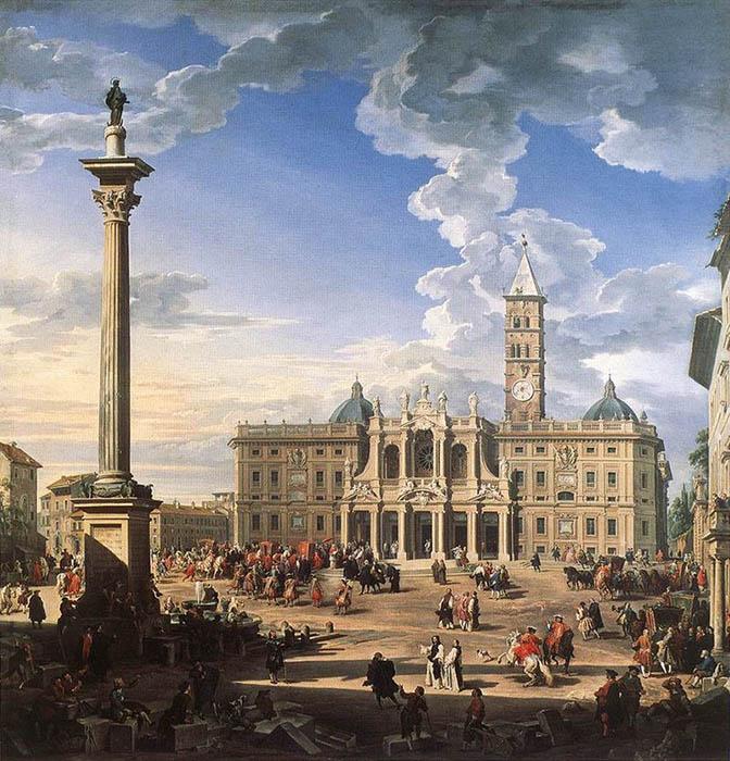 Одна из самых первых колонн в Риме.