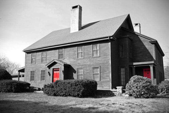Дом Джона Проктора в Пибоди, Массачусетс.