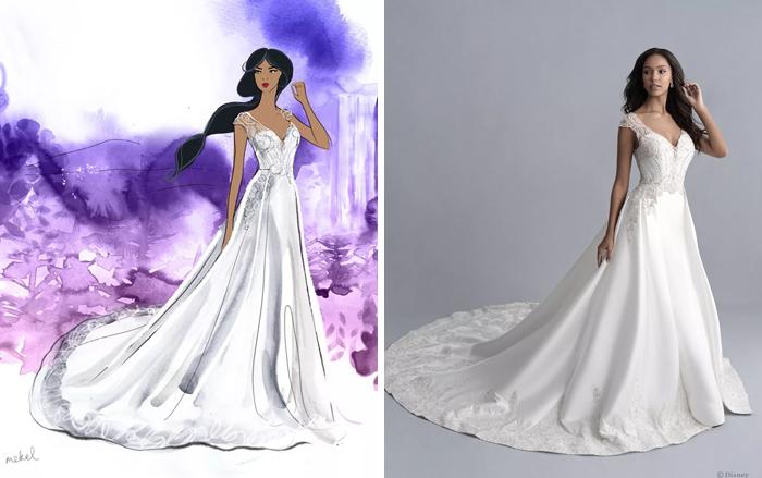 Свадебное платье Покахонтас.