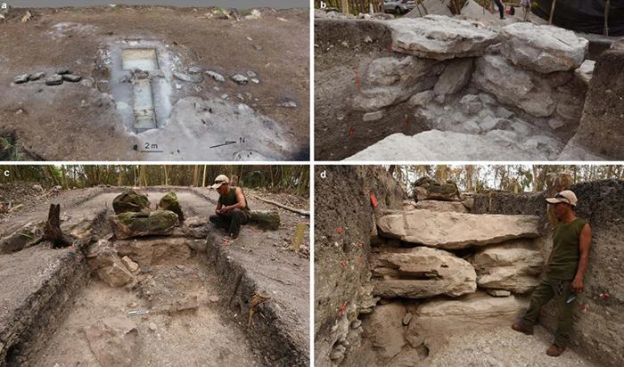 Найденные предметы предполагают ритуальное назначение этого места.