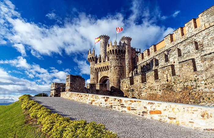 Крепость тамплиеров.