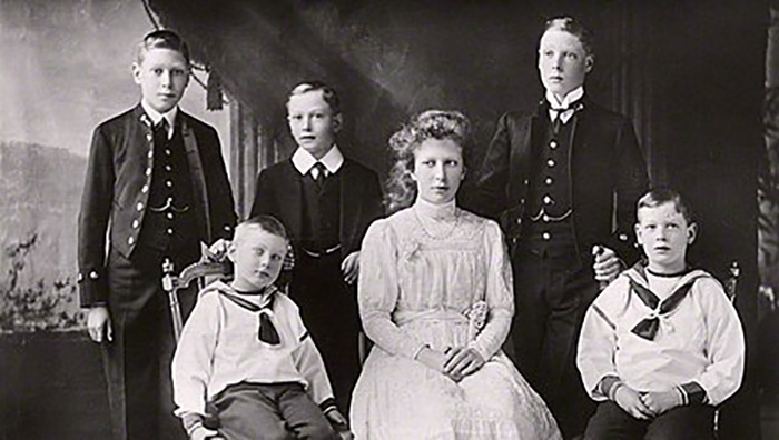 Королевская семья.