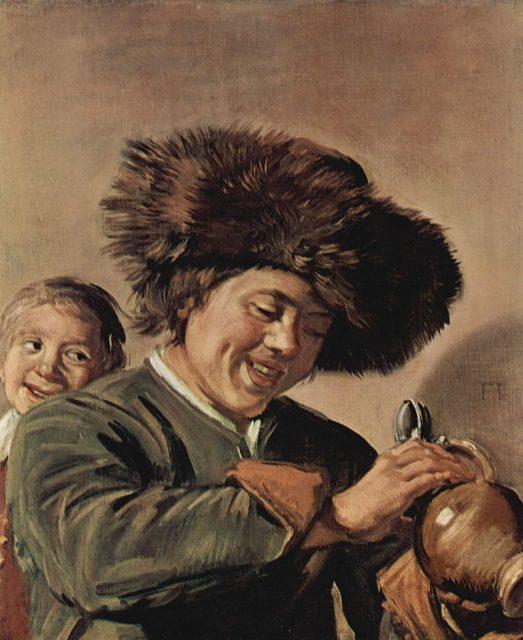 Несчастная картина, украденная в третий раз. Франс Хальс, «Два смеющихся мальчика с кружкой пива».