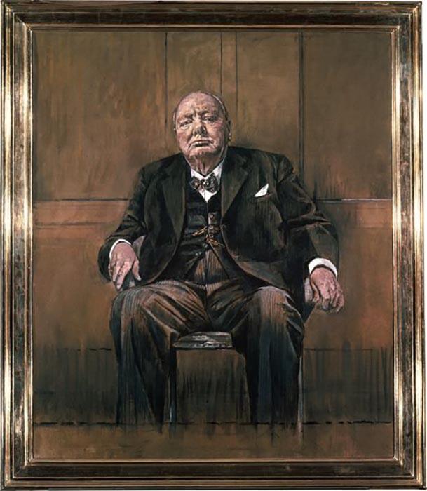 «Портрет сэра Уинстона Черчилля», Грэм Сазерленд.