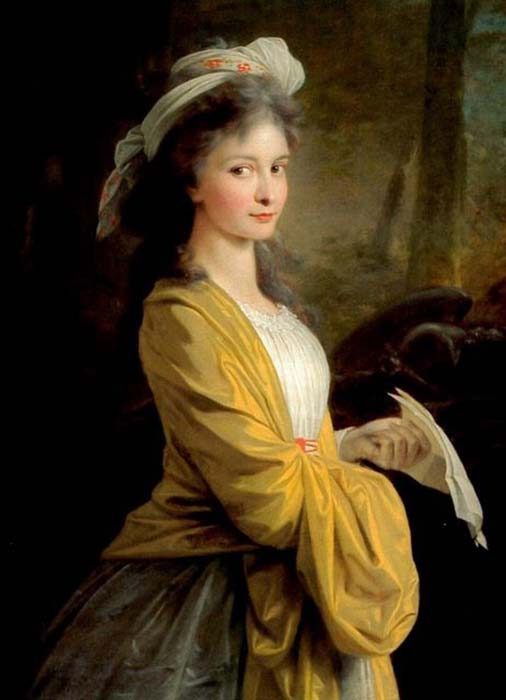 Джульетта Гвиччарди - первая любовь композитора.