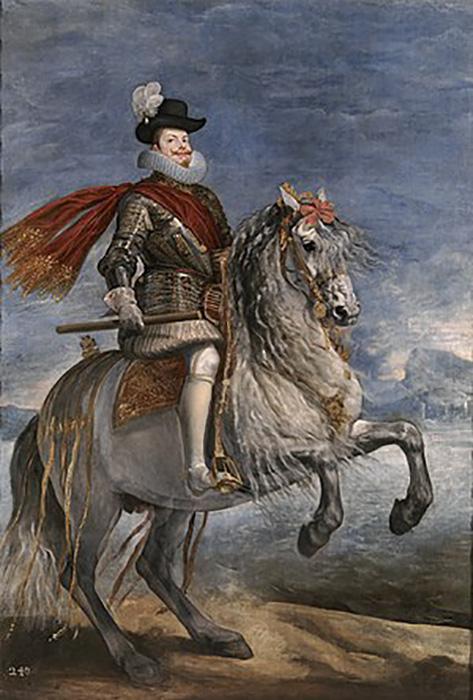 Жемчужина была долго в собственности испанской королевской семьи.